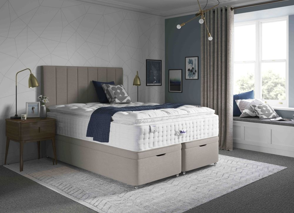 Relyon Pillowtop 2800 Pocket Spring Elite Divan Bed