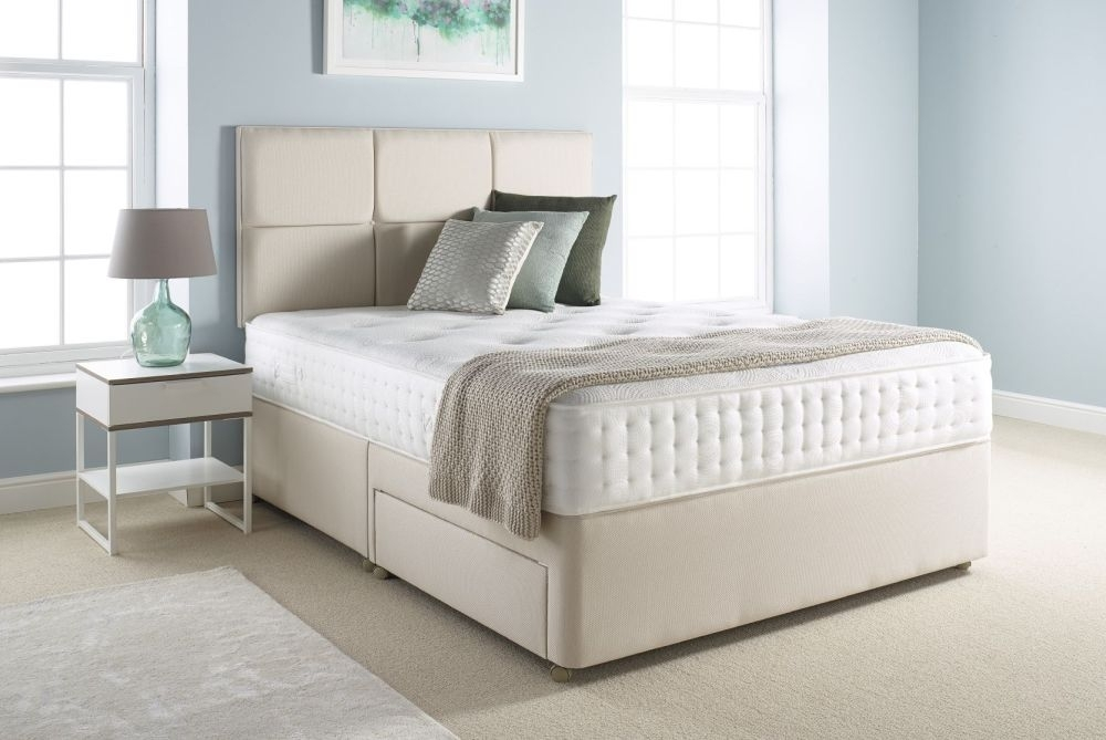 Relyon Pocket Memory Classic Padded Top Divan Bed