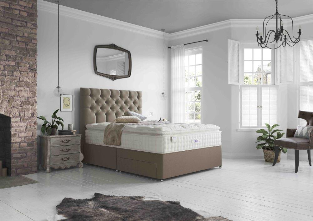 Relyon Silk 2800 Pocket Spring Elite Divan Bed