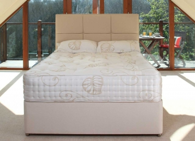 Relyon Bordeaux Fabric Divan Bed