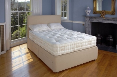 Relyon Marlborough Fabric Sprung Edge Divan Bed