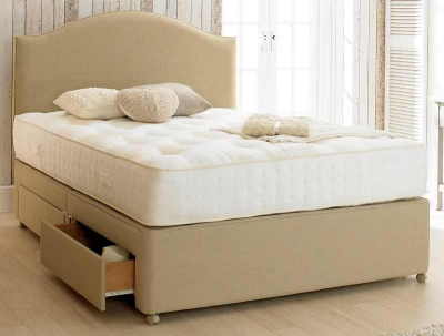Relyon Pocket Ultima Fabric Divan Bed