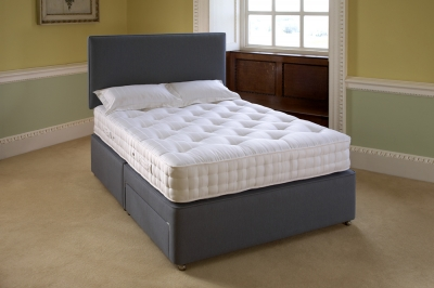 Relyon Salisbury Ortho Fabric Divan Bed