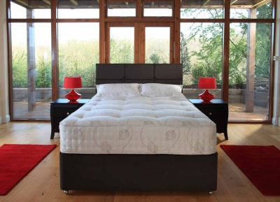 Relyon Toulouse Fabric Divan Bed
