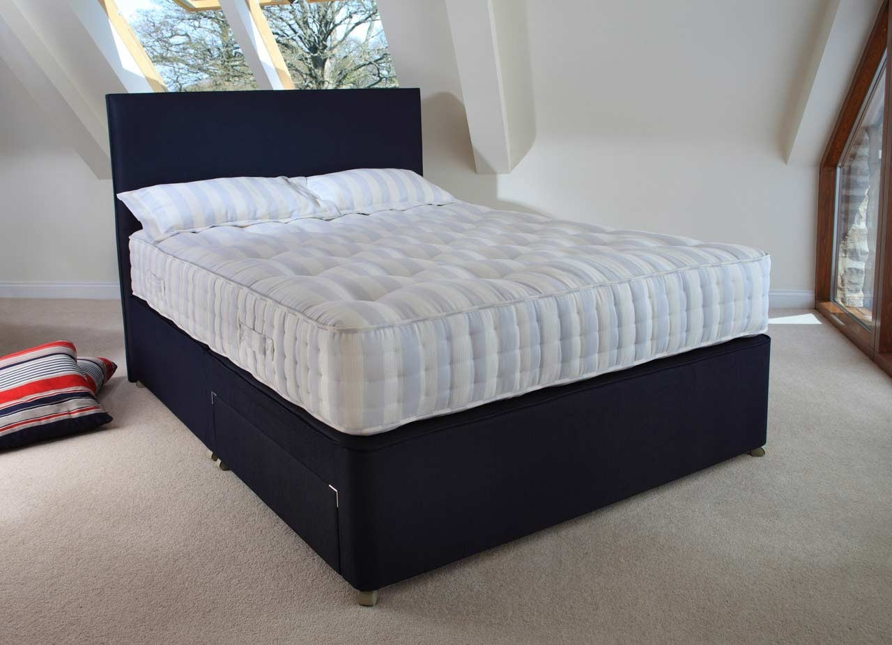 Relyon Lyon Orthorest Fabric Divan Bed