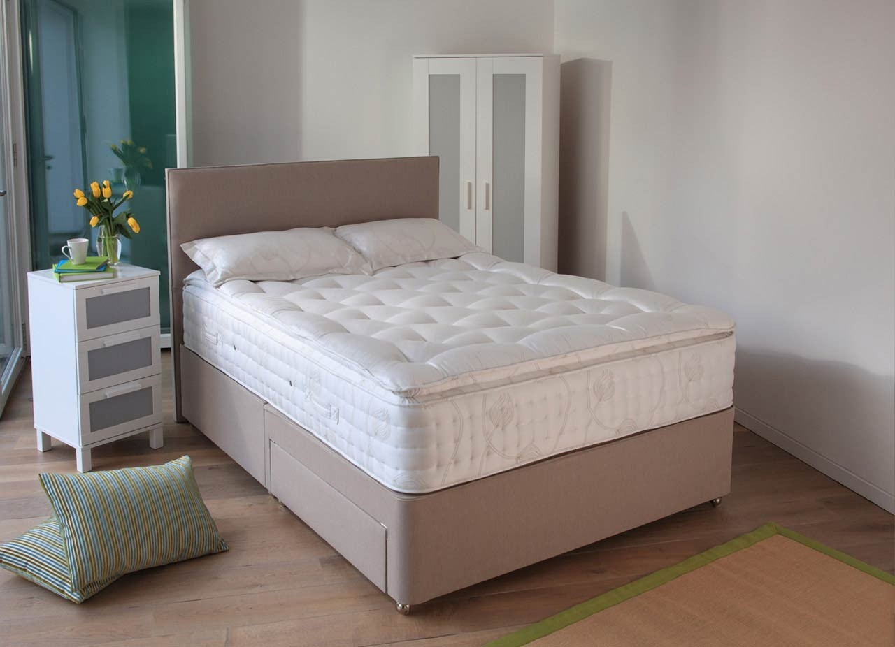 Relyon Marseille Fabric Divan Bed