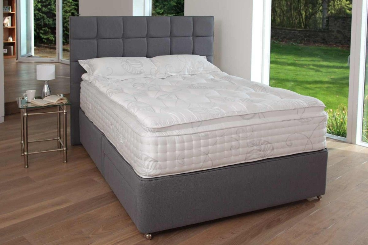 Relyon Montpellier Fabric Divan Bed