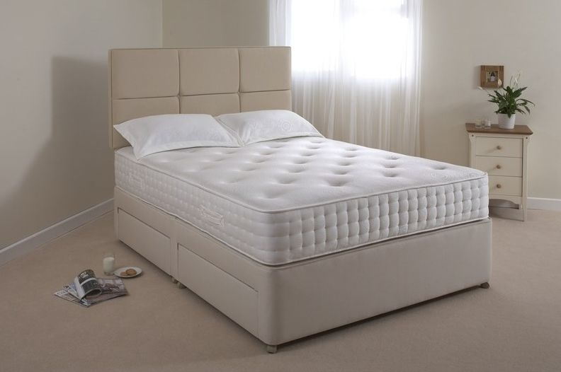 Relyon Pocket Memory Ultima Fabric Divan Bed