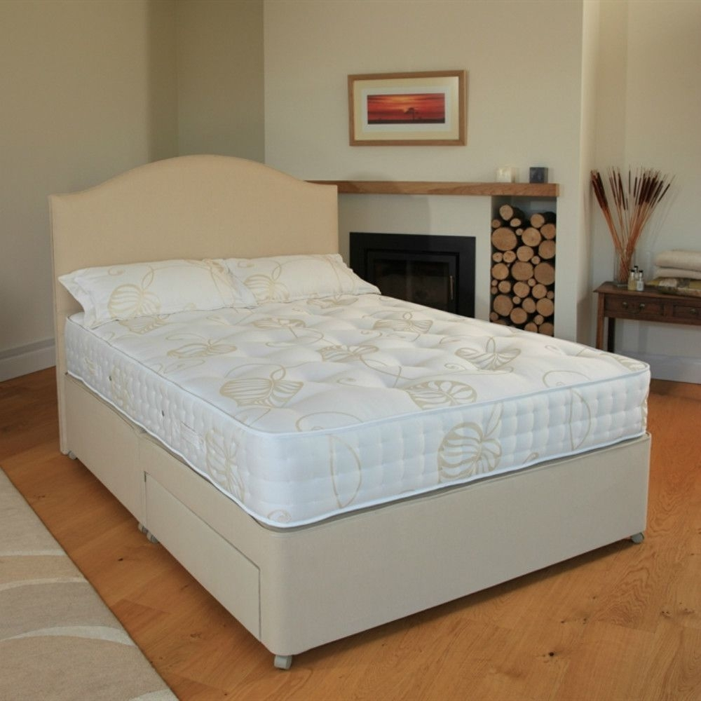 Relyon Reims Fabric Divan Bed