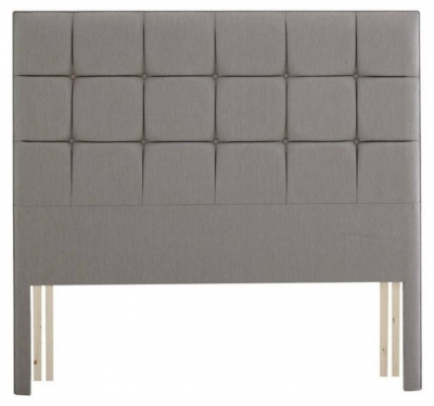 Relyon Deep Buttoned Extra Height Fabric Slim Headboard