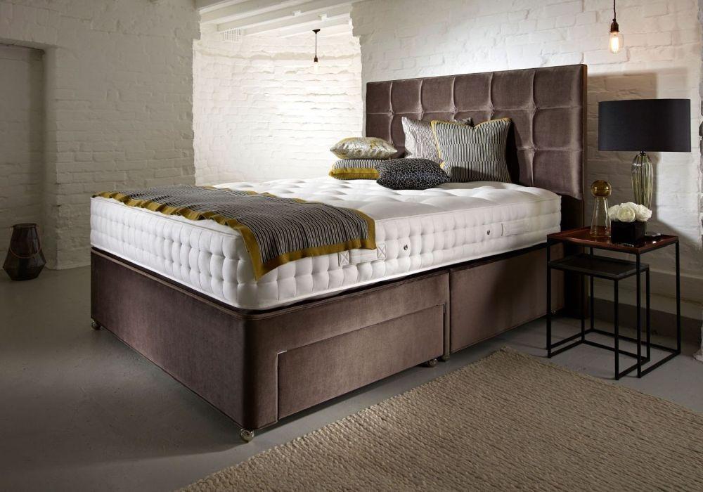 Relyon Woolsack 1400 Pocket Sprung Divan Bed