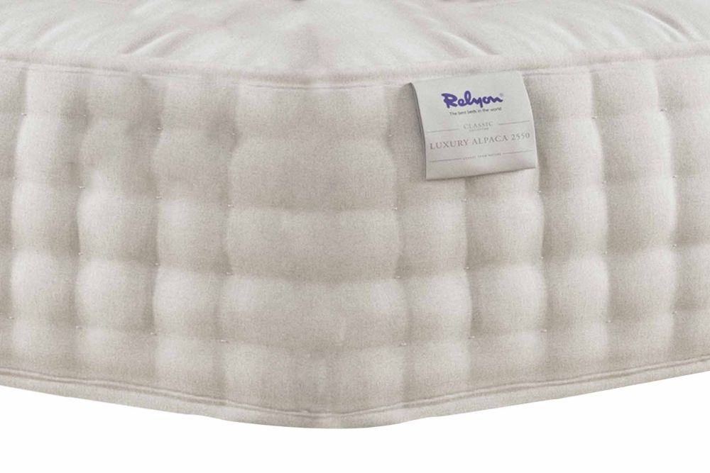 Relyon Luxury Alpaca 2550 Pocket Sprung Mattress
