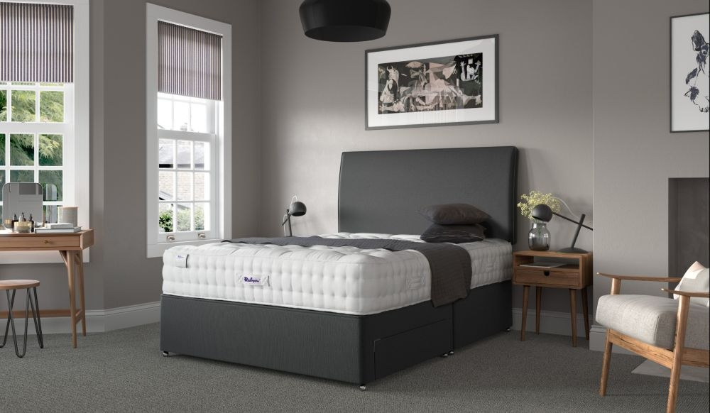 Relyon Luxury Wool 2150 Pocket Sprung Divan Bed