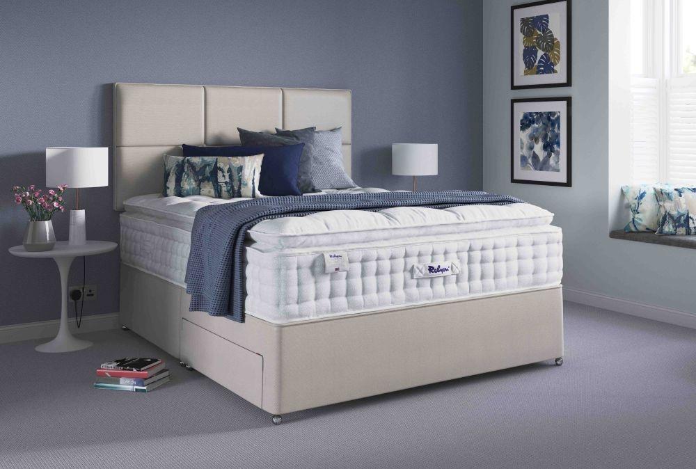 Relyon Pillowtop 2300 Pocket Spring Elite Divan Bed