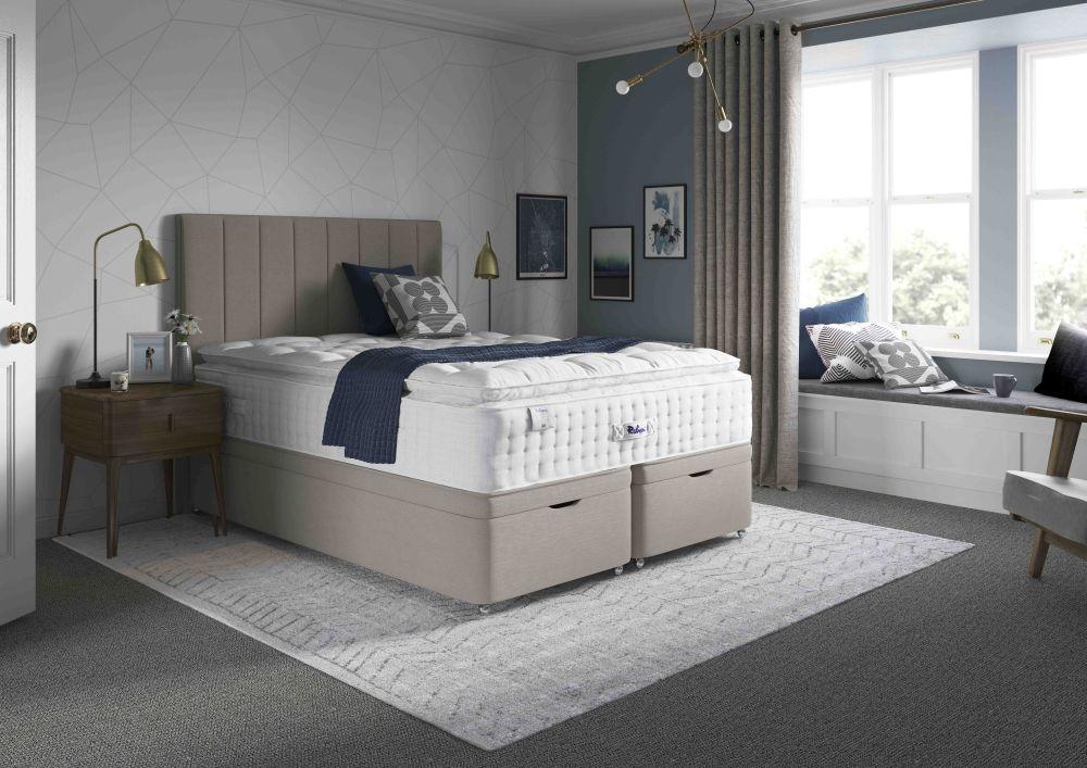 Relyon Pillowtop 2800 Pocket Spring Elite Divan Bed