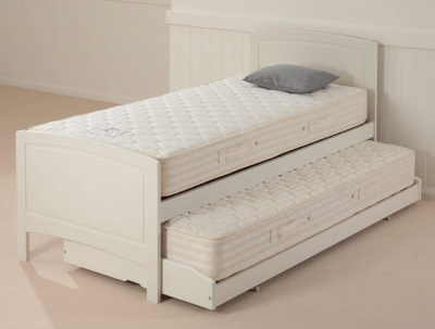 Relyon Storabed Deluxe 3ft Single White Guest Bed with Mattress