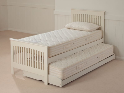 Relyon Storabed Duo 3ft Single White Guest Bed with Mattress