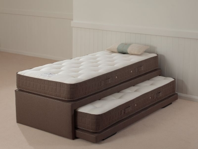 Relyon Upholstered Tweed Storabed Guest Bed with Mattress