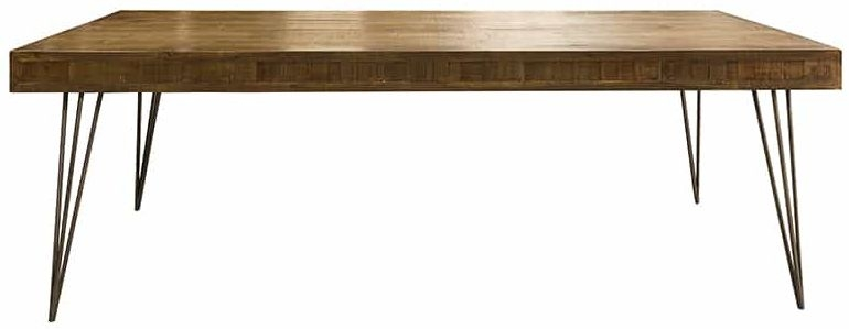 Barclay Reclaimed Pine Dining Table - 240cm