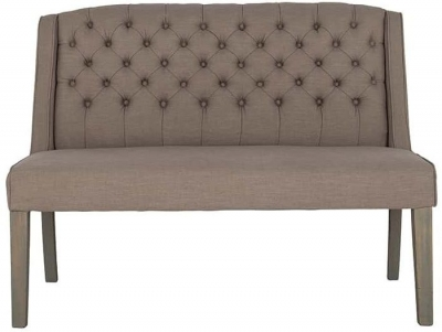 Soho Small Fabric Bench