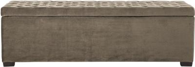 Noah Linen Fabric Bench