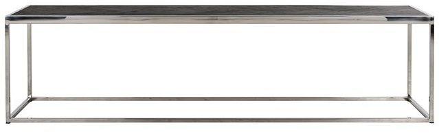 Blackbone Black Oak and Silver Coffee Table