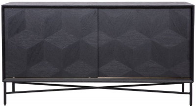 Blax Black Oak 2 Door Sideboard