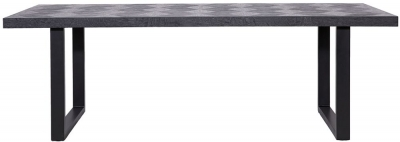 Blax Black Oak 230cm Dining Table