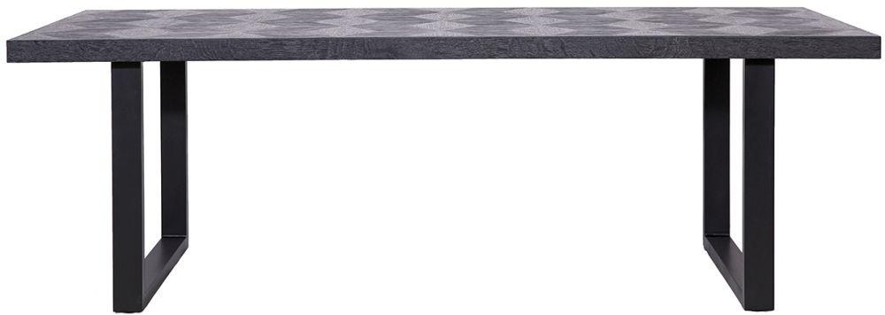 Blax Black Oak 230cm Dining Table