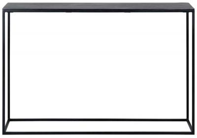 Bolder Aluminium Black Console Table