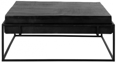 Bolder Black Aluminium Coffee Table