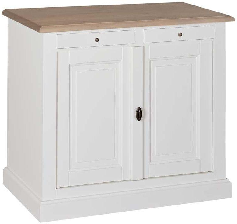 Brookland Oak Sideboard - 2 Door 2 Drawer