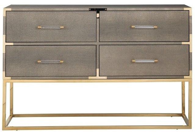 Calesta 4 Drawer Sideboard
