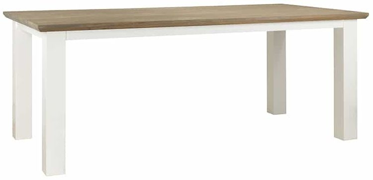 Cardiff Oak Dining Table - 160cm
