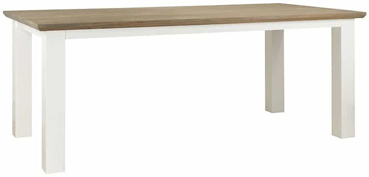 Cardiff Oak Dining Table - 220cm