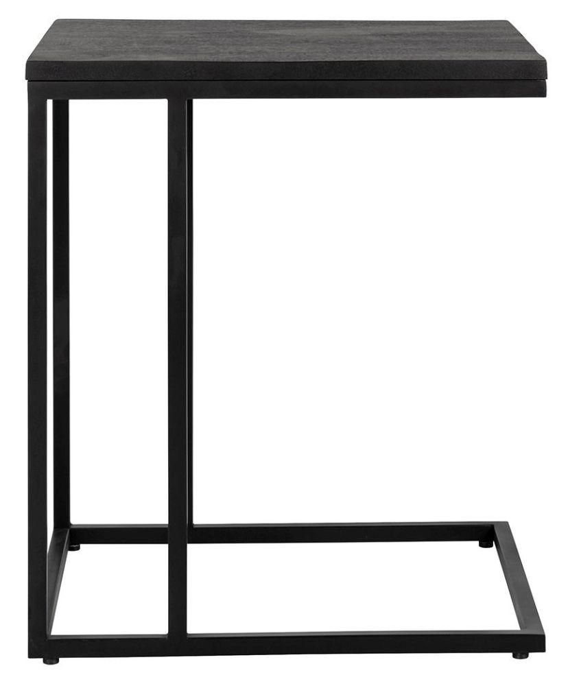 Catana Black Mango Wood Sofa Table