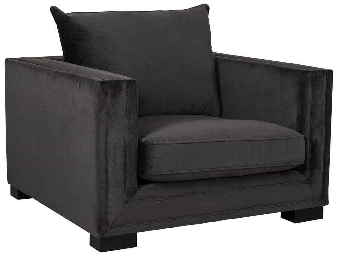 Maxim Juke Charcoal Armchair
