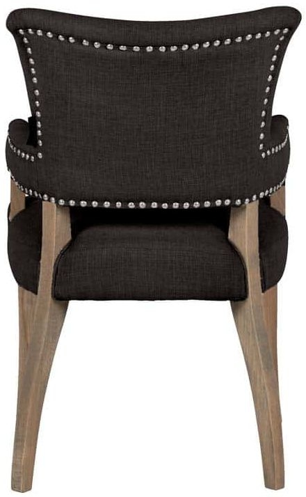 Roxy with Silver Nails Armchair - Fire Retardant