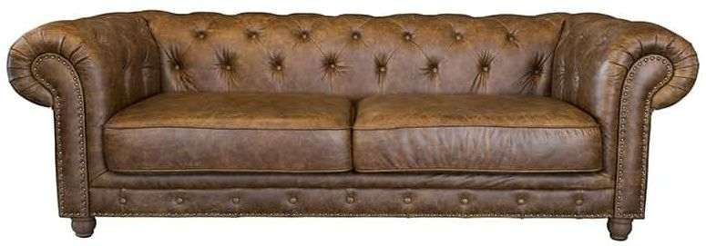 Chessy 3 Seater Leather Sofa