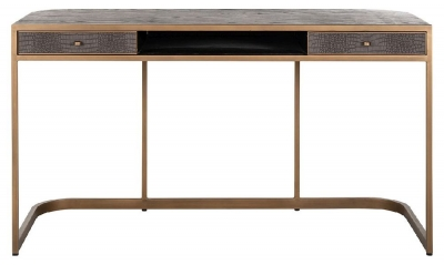 Classio Vegan Leather Desk