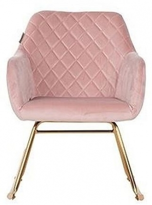 Clearance - Rocky Pink Velvet Rocking Chair - New - E-233