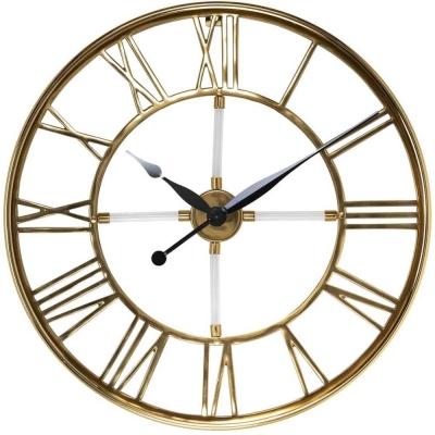 Bryson Gold Round Clock