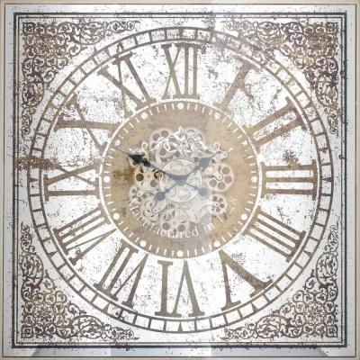 Owen Brown Square Clock