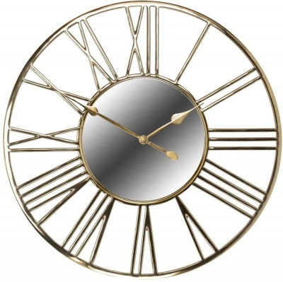 Willson Gold Round Clock