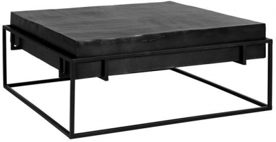 Bolder Black Aluminium Coffee Table