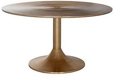 Dexter Aluminium Round Coffee Table