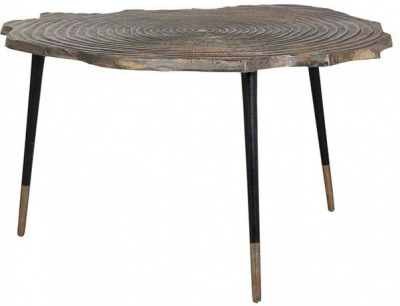 Sherman Aluminium Coffee Table