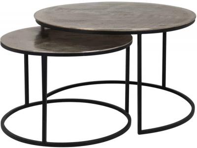 Asher Aluminium Coffee Table (Set of 2)