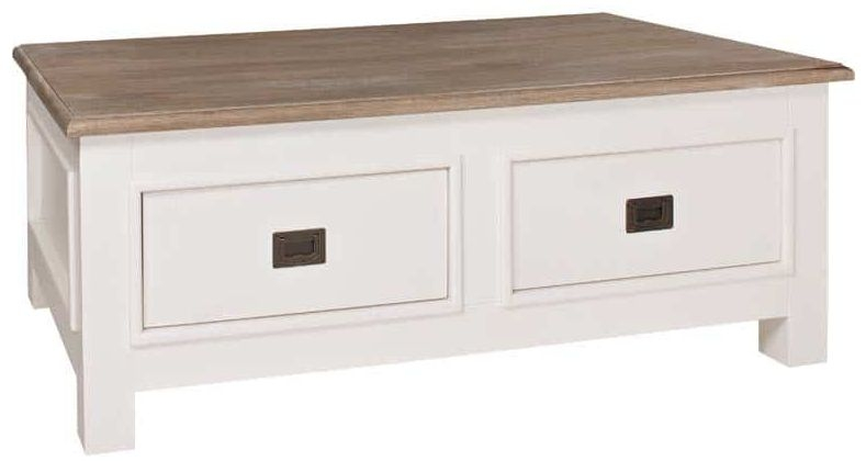Metz Coffee Table - 4 Drawer