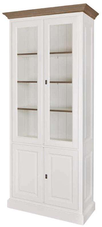Cornelia Oak Display Cabinet - 4 Door
